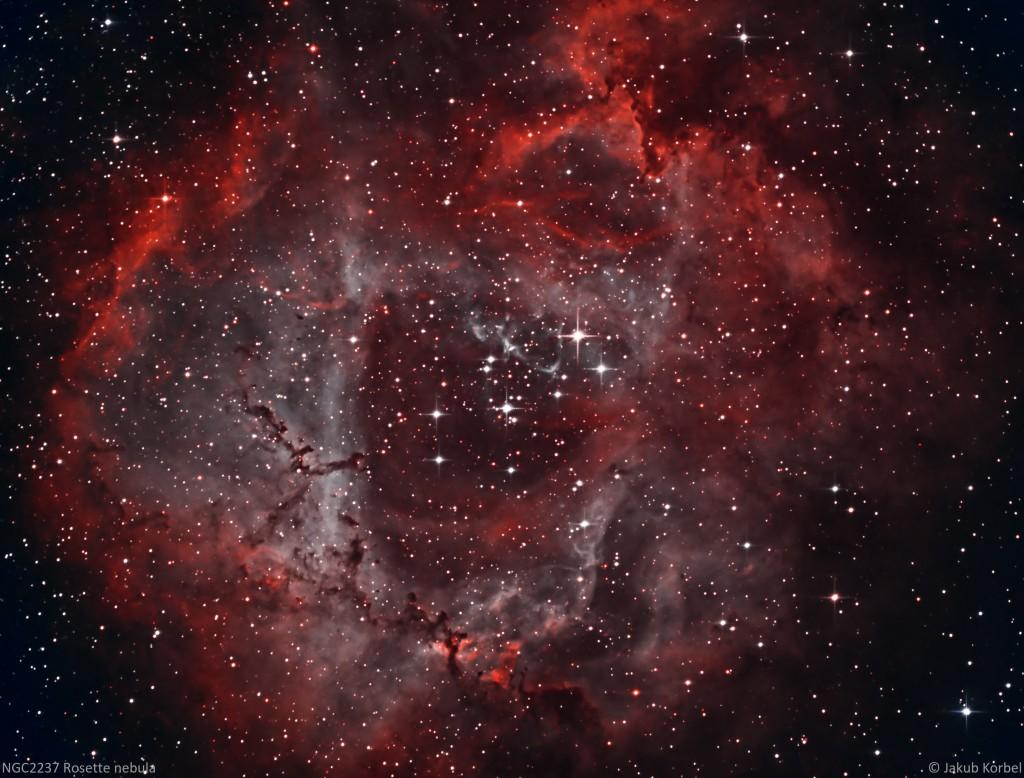 NGC2237-Rosette-2016-02-10-360s-40C-17Ha-19OIII-10SII-FL730-Tri