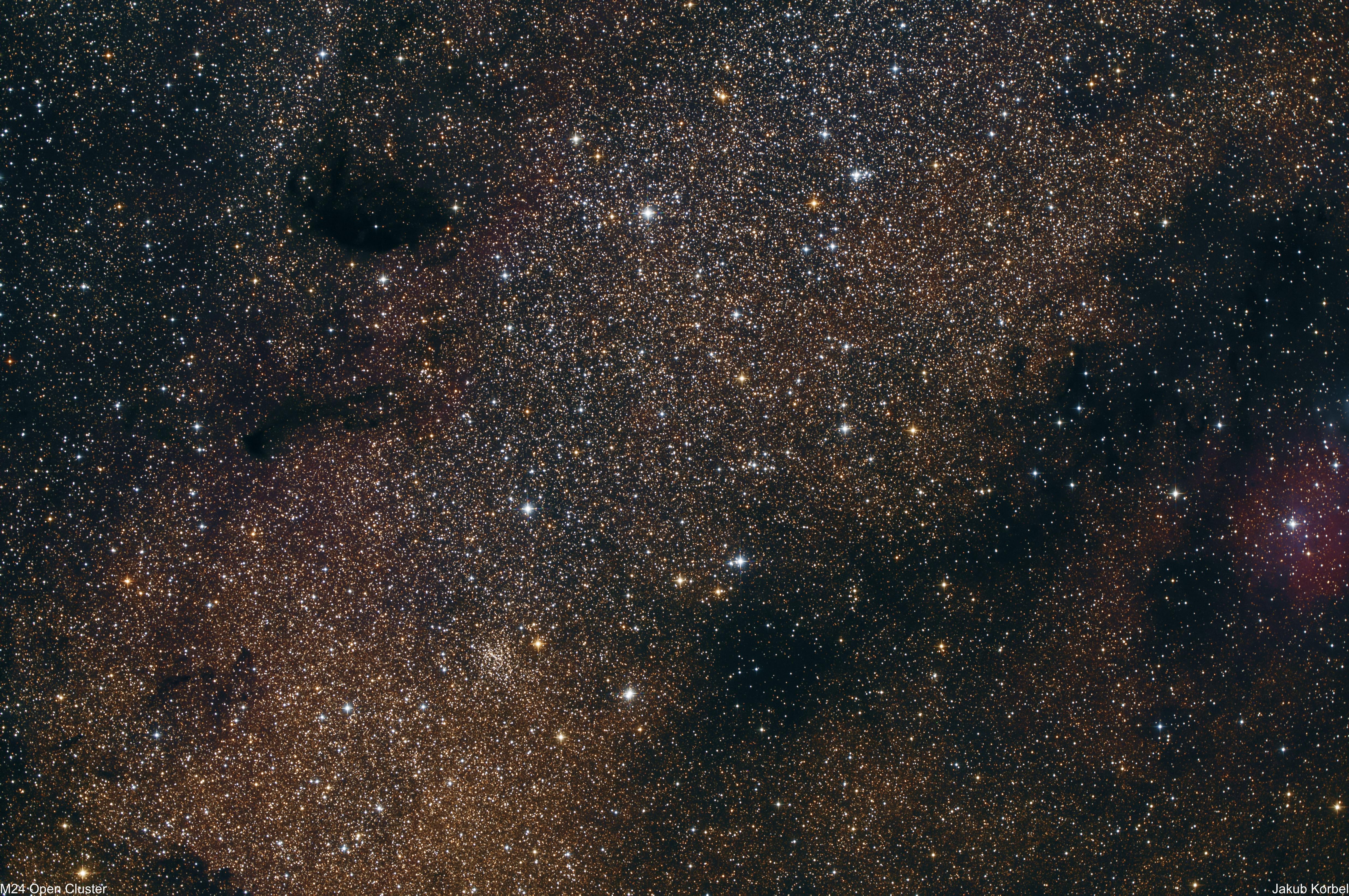 M24 Sagittarius Star Cloud – AstroFotoBlog
